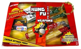 Kung Fu Panda Movie Training Weapons Panda Attack Pack