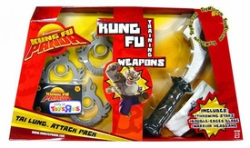 Kung Fu Panda Movie Training Weapons Tai Lung Attack Pack