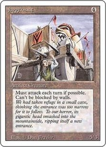 Magic the Gathering Revised Edition Single Card Uncommon Juggernaut