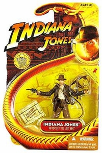 Indiana Jones Movie Hasbro Series 1 Action Figure Indiana Jones [Temple with Whip & Fertility Idol] [Raiders of the Lost Ark]