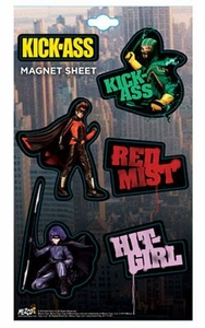 Kick-Ass Mezco Toyz Magnet Sheet