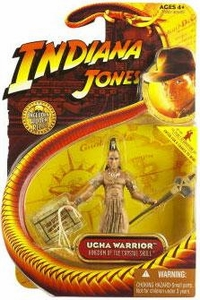 Indiana Jones Movie Hasbro Series 2 Action Figure Ugha Warrior