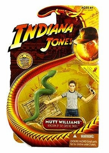 Indiana Jones Movie Hasbro Series 2 Action Figure Mutt Williams [Python] [Kingdom of the Crystal Skull]