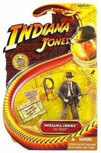 Indiana Jones Movie Hasbro Series 3 Action Figure Indiana Jones with Submachine Gun [Last Crusade]