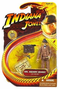 Indiana Jones Movie Hasbro Series 3 Action Figure Dr. Henry Jones [Sean Connery] [Last Crusade]