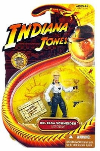Indiana Jones Movie Hasbro Series 3 Action Figure Dr. Elsa Schneider [Last Crusade]