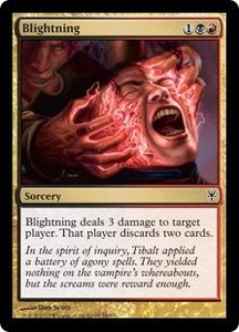 Magic: The Gathering Duel Decks: Sorin vs. Tibalt Single Card Multicolor Common #69 Blightning
