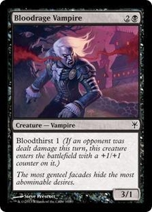 Magic: The Gathering Duel Decks: Sorin vs. Tibalt Single Card Black Common #10 Bloodrage Vampire