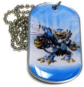 Topps Skylanders Giants LOOSE Dog Tag Jet-Vac [27 of 44]
