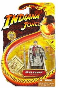 Indiana Jones Movie Hasbro Series 3 Action Figure Grail Knight [Last Crusade]
