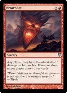 Magic: The Gathering Duel Decks: Sorin vs. Tibalt Single Card Red Uncommon #66 Browbeat