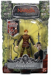 Chronicles of Narnia Prince Caspian Action Figure Castle Raid Peter Pevensie