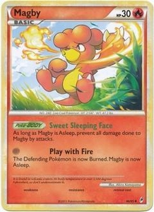Pokemon Call of Legends Single Card Uncommon #46 Magby