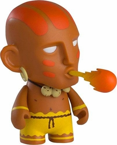 KidRobot Street Fighter Collectible Vinyl 3 Inch Mini Figure Dhalsim [Original]