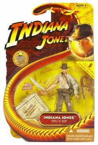 Indiana Jones Movie Hasbro Series 4 Action Figure Indiana Jones with Whip & Machette [Temple of Doom]