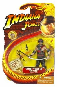 Indiana Jones Movie Hasbro Series 4 Action Figure Chief Temple Guard [Temple of Doom]