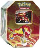 Pokemon Diamond & Pearl 2007 Holiday Tin Set Infernape with LV.X Foil Card
