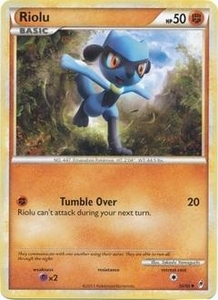 Pokemon Call of Legends Single Card Uncommon #50 Riolu