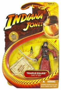 Indiana Jones Movie Hasbro Series 4 Action Figure Temple Guard [Temple of Doom]