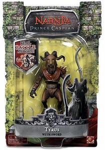 Chronicles of Narnia Prince Caspian Action Figure Tyrus