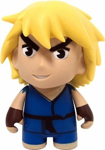 KidRobot Street Fighter Collectible Vinyl 3 Inch Mini Figure Ken [Blue]