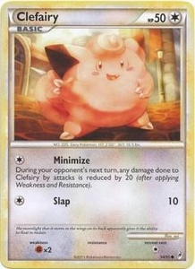 Pokemon Call of Legends Single Card Common #54 Clefairy