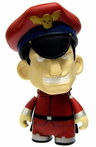 KidRobot Street Fighter Collectible Vinyl 3 Inch Mini Figure M. Bison [CHASE]