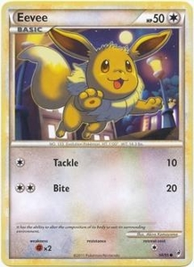 Pokemon Call of Legends Single Card Common #56 Eevee
