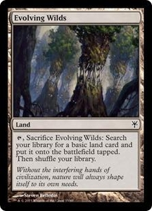Magic: The Gathering Duel Decks: Sorin vs. Tibalt Single Card  Common #33 Evolving Wilds