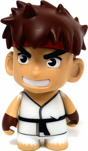 KidRobot Street Fighter Collectible Vinyl 3 Inch Mini Figure  Ryu [White Gi]