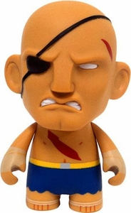 KidRobot Street Fighter Collectible Vinyl 3 Inch Mini Figure Sagat [Blue]