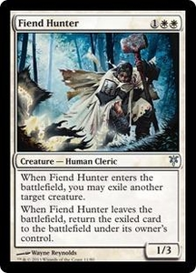Magic: The Gathering Duel Decks: Sorin vs. Tibalt Single Card White Uncommon #11 Fiend Hunter