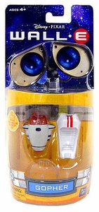 Disney Pixar Wall-E Movie 3 Inch Poseable Mini Figure Gopher
