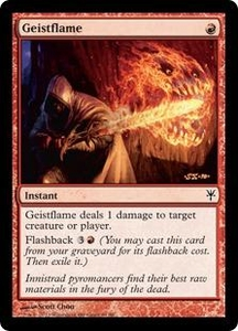 Magic: The Gathering Duel Decks: Sorin vs. Tibalt Single Card Red Common #61 Geistflame
