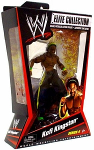 Mattel WWE Wrestling Elite Series 4 Action Figure Kofi Kingston BLOWOUT SALE!