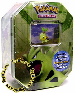Pokemon EX 2007 Series 1 Collector Tin Set Tyranitar with Turtwig Foil Card