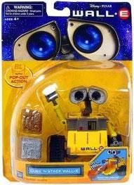 Disney Pixar Wall-E Movie Deluxe Figure Cube 'N Stack Wall-E