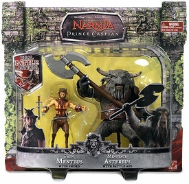 Chronicles of Narnia Prince Caspian Basic Figure 2-Pack Faun Mentius & Minotaur Asterius