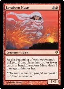 Magic: The Gathering Duel Decks: Sorin vs. Tibalt Single Card Red Rare #50 Lavaborn Muse