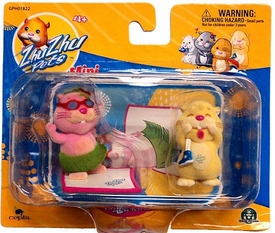 Zhu Zhu Pets Mini Figure 2-Pack Jilly & Pipsqueak