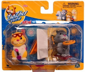 Zhu Zhu Pets Mini Figure 2-Pack Patches & Num Nums