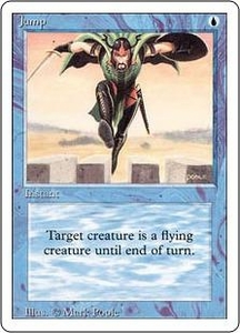 Magic the Gathering Revised Edition Single Card Common Jump