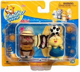 Zhu Zhu Pets Mini Figure 2-Pack Scoodles & Pipsqueak
