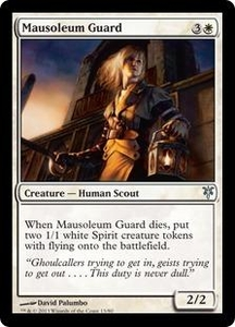 Magic: The Gathering Duel Decks: Sorin vs. Tibalt Single Card White Uncommon #13 Mausoleum Guard