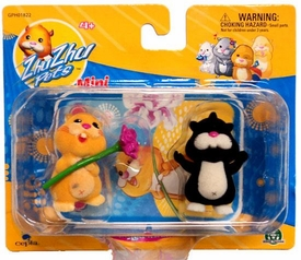 Zhu Zhu Pets Mini Figure 2-Pack Nugget & Rocky