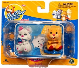 Zhu Zhu Pets Mini Figure 2-Pack Chunk & Patches