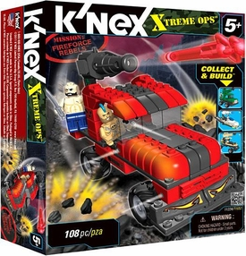 K'NEX Xtreme Ops Mission Set #11224 Fireforce Rebels