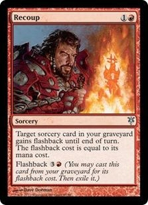 Magic: The Gathering Duel Decks: Sorin vs. Tibalt Single Card Red Uncommon #63 Recoup