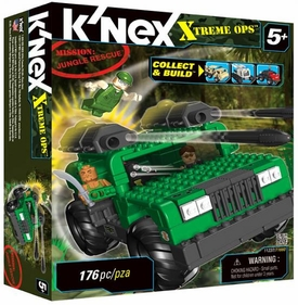 K'NEX Xtreme Ops Mission Set #11237 Jungle Rescue