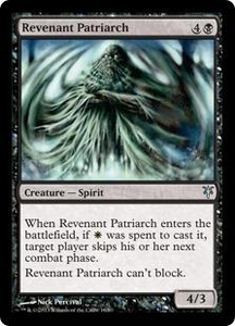 Magic: The Gathering Duel Decks: Sorin vs. Tibalt Single Card Black Uncommon #16 Revenant Patriarch